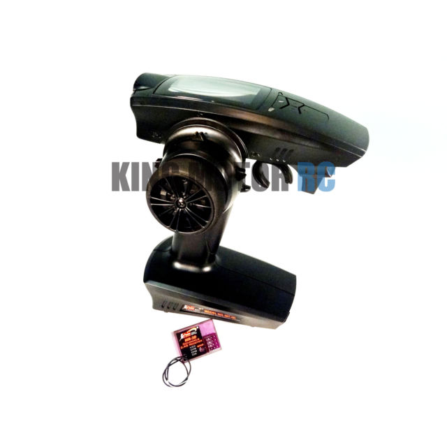 King Motor MT-3D 3 Channel 2.4GHz Transmitter /& Receiver RC