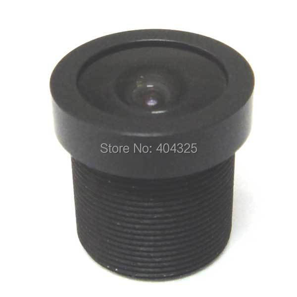 4pcs 2.1mm 150 Degrees IR Wide Angle CCTV Lens Camera Board 1/3 and 1/4 CCD M12x0.5