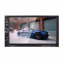 7 Inch 2 Din Touch Screen Bluetooth USB TF FM DVR Aux Input GPS Car