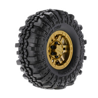 4pcs AUSTAR RC Car AX 4020F 1.9 inch 110mm Rock Crawler Tires with Solid Beadlock Wheel Rim for 1/10 Traxxas AXIAL RC4WD TF2