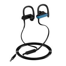 все цены на Wired headset Anti-drop Sport Earphone Headphones Super Bass Running Music HD Hifi Headset for Mobile Phones and PC 3.5mm jack онлайн
