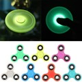 LED Light Hand Finger Spinner 2017 Hand Spinner For Autism and ADHD Relief ABS + Metal Bearings Anti_Stress Toys Gift 7 Colors