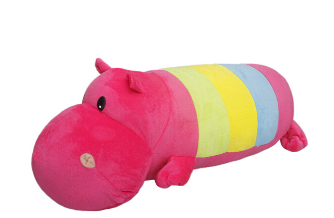 Free Shipping 90cm Toy Hippos 1pc Life Size Plush Stuffed Soft