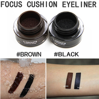 Unqiue 3GS Cushion Eyeliner Gel Long Lasting 24 Hours Waterproof Highly Pigment Smooth Air Liquid Eyeline
