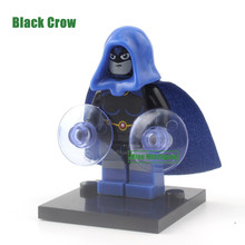 Presale Wholesale 20pcs 353 Black Crow Super Hero Marvel Minifigures Avengers Batman Building Blocks Model Kids Toys Gifts x0126
