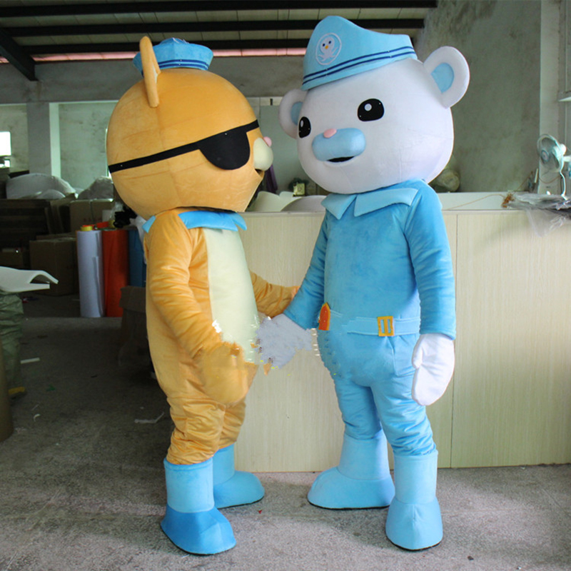 Hot-Sale-lively-Octonauts-Movie-Captain-Barnacles-kwazii-Polar-Bear-Police-Mascot-Costumes-Adult-Size-Free (2)