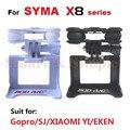 Cardán para SYMA RC Quadcopter X8C X8W X8G X8 Serie Con Soporte de La Cámara Compatible Con SJ/Gopro/XIAOYI cámara Gimble Repuestos