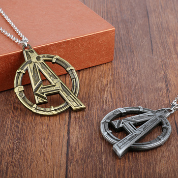 The Avengers Logo Necklace (2 Colors) 2