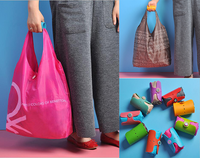 Aliexpress.com : Buy new Foldable gel food rolls Reusable Handbags ...