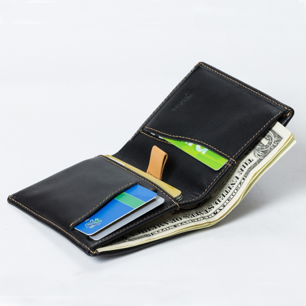 Slim Leather Wallet for Bellroy Same Style Functional ...