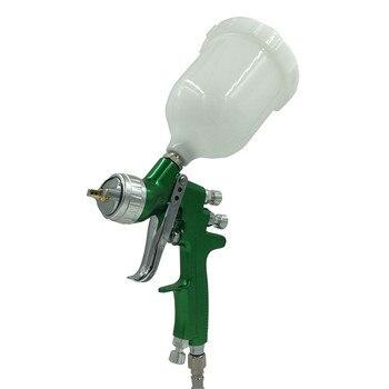 цена на SAT1164 1.3mm/1.4mm Nozzle Professional HVLP Spray Gun Air Paint Spray Guns Airbrush For Painting Car