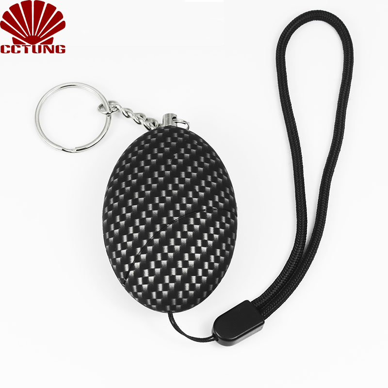 130db Mini SOS Panic Sound Personal Alarm Siren Safe Emergency Personal Alarm Safety Keychain Battery Built-in To Help Scare Off_1
