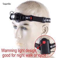 Coquimbo 2000 Lumens Q5 LED Headlamp 4 Modes Zoomable Powerful Head Light Used 3 AAA Battery