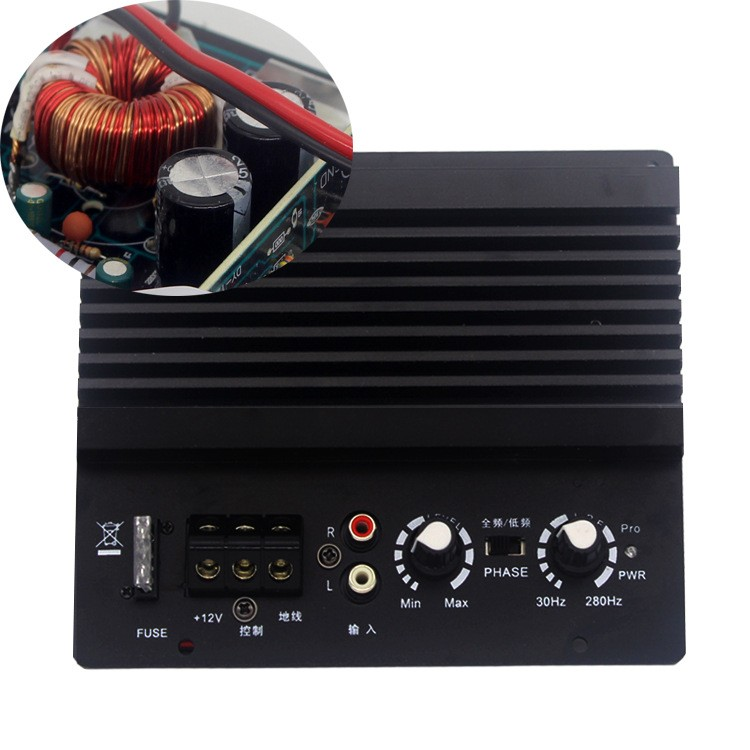 2018 for 6 8 12 inch speaker 12v 400w mono car audio power amplifier 4ohm powerful bass. Black Bedroom Furniture Sets. Home Design Ideas