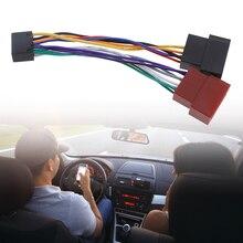 1 Pcs רכב חוט לרתום מתאם עבור Kenwood / JVC אוטומטי סטריאו רדיו ISO סטנדרטי מחבר מתאם 16 Pin Plug כבל Plug Play