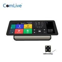 Camlive V80 10 4G ADAS dash camera dual cams HD1080P car video recorder GPS navi bluetooth dashboard video recorder WIFI hotspo