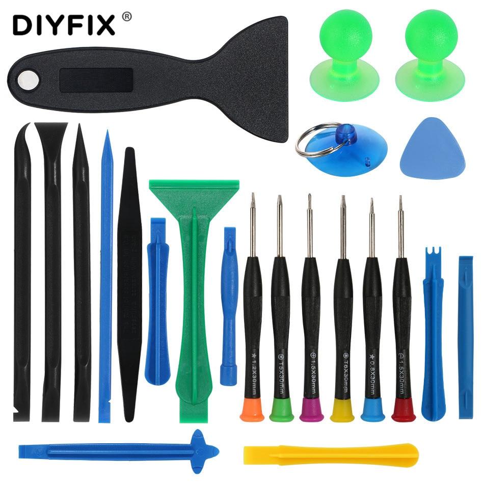 DIYFIX 23 In 1 Laptop Repair Multi Opening Tools Kit Precision Screwdriver Set For Cell Mobile Phone Tablet PC