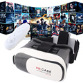 "2016 Google Cardboard VR BOX II 3.0 Version Virtual Reality 3D VR Glasses + Bluetooth Game Controller for 3.5"" - 6.0"" Smartphone"
