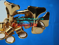 Free Shipping New Electric Bass Guitar Tuning Peg Guitar Button In Gold For Both Side Of