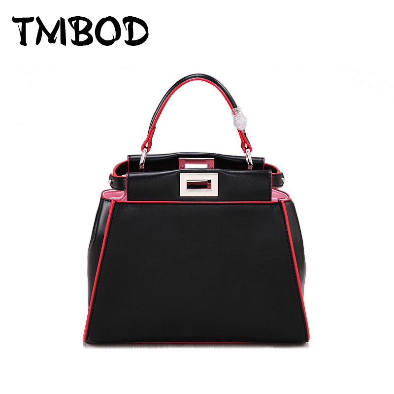 New 2018 Designer Classic Panelled Tote Popular Women Split Leather Handbags Ladies Bag Messenger Bags For Female an815 f gattien 7111 311