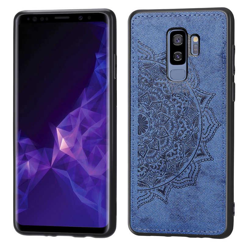 Para Samsung Galaxy S9 Plus funda 3D de lujo tela caso de la cubierta del teléfono para Samsung Galaxy S9 Plus para Samsung S9 Plus caso