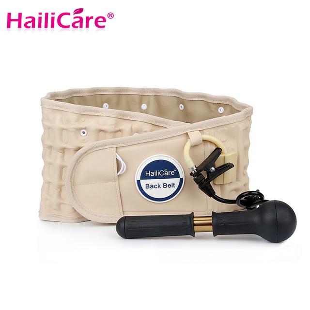 Cuidados de saúde! hailicare descompressão cinturão de volta dispositivo de tração lombar back support brace dor menor massageador health monitor