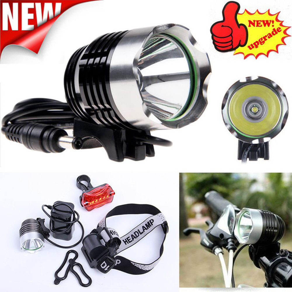 High Quality 5000 Lm CREE XM-L XML T6 LED Bicycle Bike light Head Light Headlamp Rechargeable