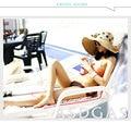 Sombrero femenino sunbonnet del verano anti-ultravioleta strawhat del verano protector solar sombrero de Las Mujeres grandes del sombrero del sol gran sombrero de ala playa