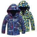 Boys Jacket For Spring Autumn Fleece Hooded Coat For Kids 4-15Years Children's Windbreaker Fashion Trench Coat Chaqueta Nino