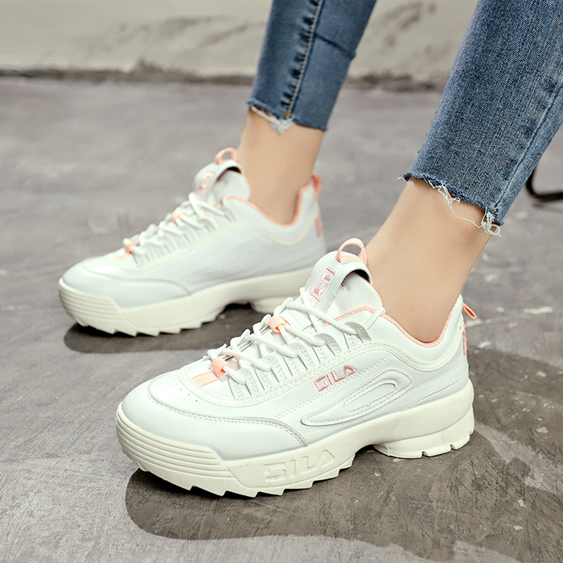 fe209de6e447b2 2018 New women running shoes Disruptor 2 Sneakers Cushioning platform  Breathable Wave Sports Triple S walking shoes ST314-in Running Shoes from  Sports .