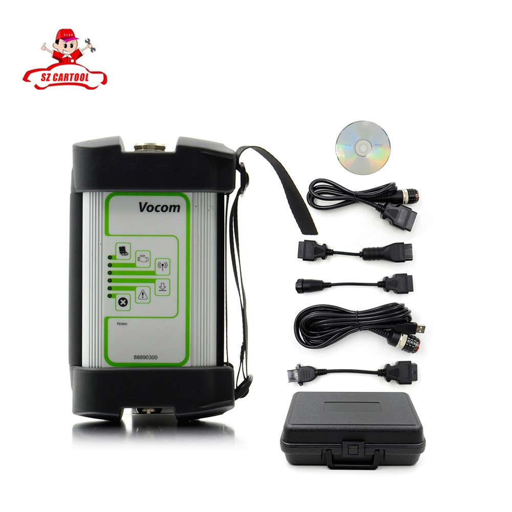 For Volvo 88890300 Vocom Interface for Volvo/Renault/UD/Mack Truck Diagnose For Volvo Vocom 88890300 Vocom for Volvo Vcads