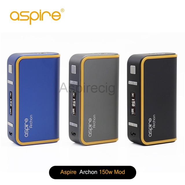f967c1bf4c3 100% Original Aspire Archon 150W TC Box Mod E Cigarette 18650 Upgradable  Firmware Temperature Control