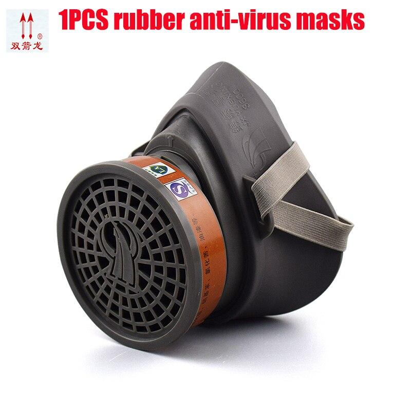 1 Pcs Gas Masken Malerei Pestizide Chemische Industrie Chemische Gas Maske Anti-formaldehyd Verhindern Krankheit Sicherheit Atemschutz Maske Profitieren Sie Klein