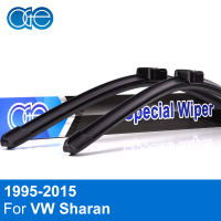 QEEPEI Car Wiper Blade For VW Sharan 28 28 Rubber Bracketless Windscreen Blades Promotion Car Accessories