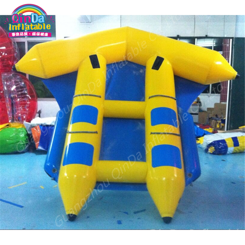 New toys for kids 2017 0.9mmPVC inflatable flying towables flying fish, flying banana boat fly fish towables made in china 3 tubes flying towables inflatable flying fish banana boat for water sports inflatable flying towables tube sport boat