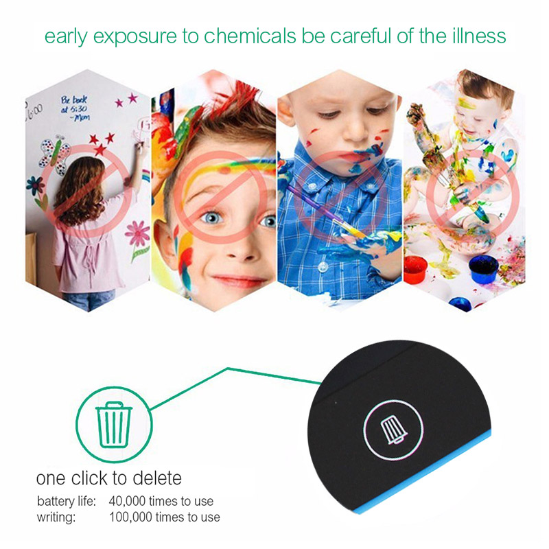 8.5 Inch LCD Writing Tablet Digital Drawing Tablet Portable Smart Handwriting Pads Electronic Tablet Board ultra-thin Kids gift
