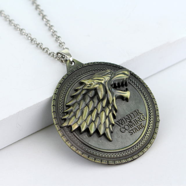 Game of Thrones House Stark Winter Coming Is Necklace