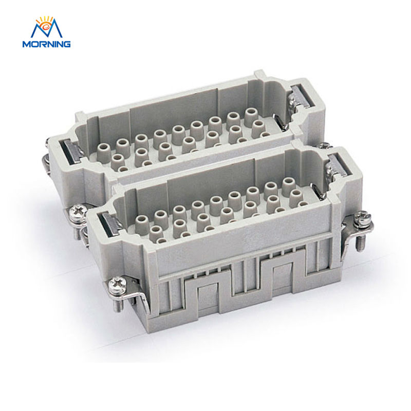 ФОТО Whole set of HEE-064 Side Entry 64 pins male female plug from Wenzhou, industrial usage plug