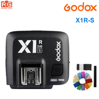 Godox X1R S Receiver TTL 2 4G Wireless Transmission Compatible X1T S Trigger Transmitter For Sony
