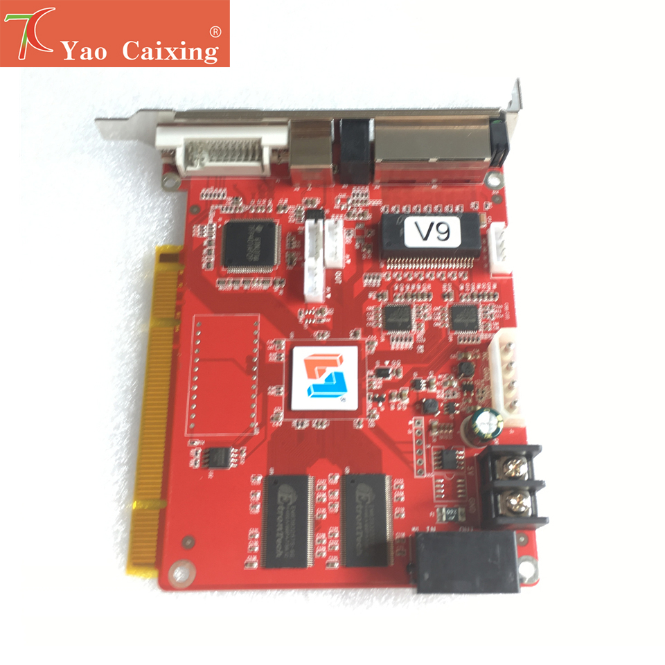 Aliexpress xxx Linten V9 synchrone carte d'envoi polychrome led système de contrôle d'écran d'affichage