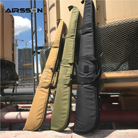 Tactical Gun Bag Padded Rifle Case Carrying Shoulder Pouch For Airsoft Paintball Hunting Fishing 132cm
