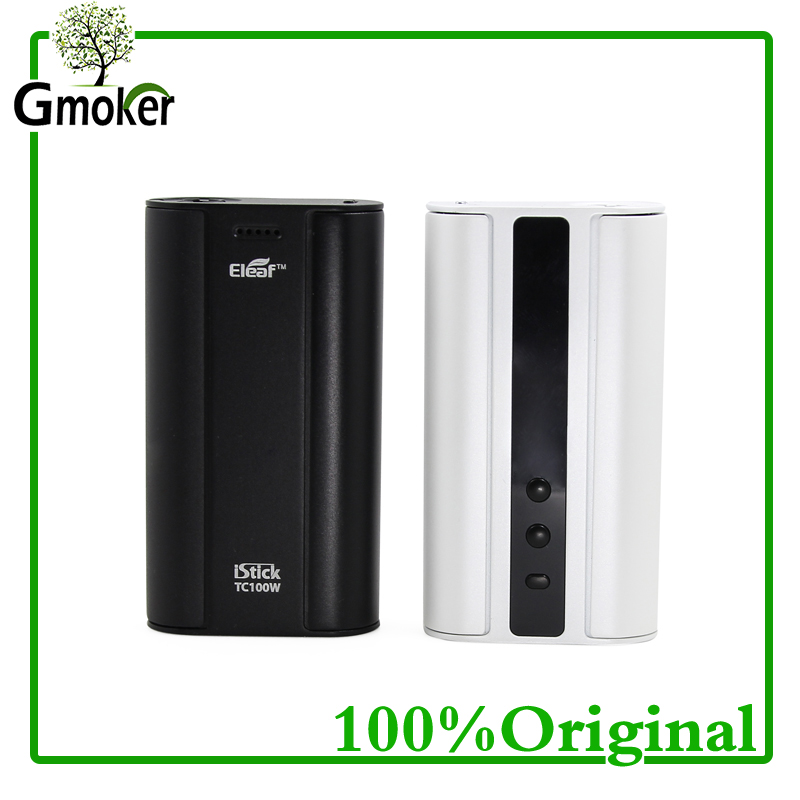 100% Original Eleaf istick 100w TC box mod electronic cigarette mod VW Bypass TC Mode Vape for vape cigarette vs istick pico mod