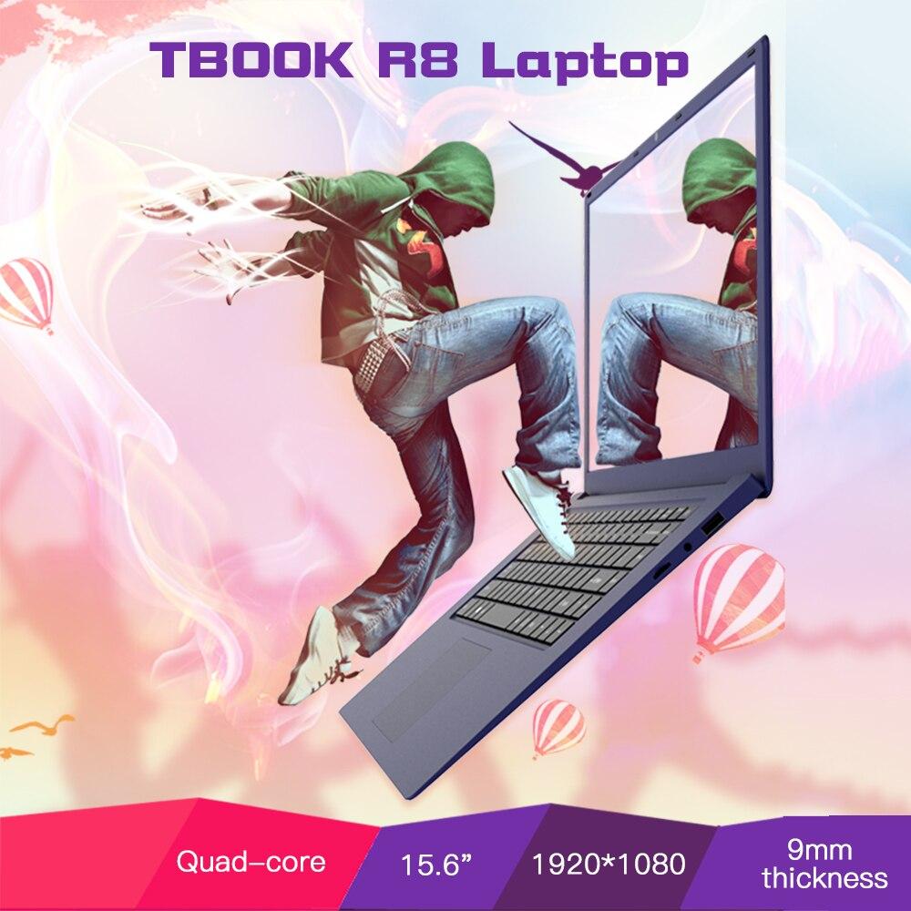 """Tbook R8 4 ГБ DDR3L 64 ГБ EMMC ноутбука Тетрадь PC 15.6 """"15.6 дюймов 1920*1080 для intel z8350 для Оконные рамы 10 4 ядра"""