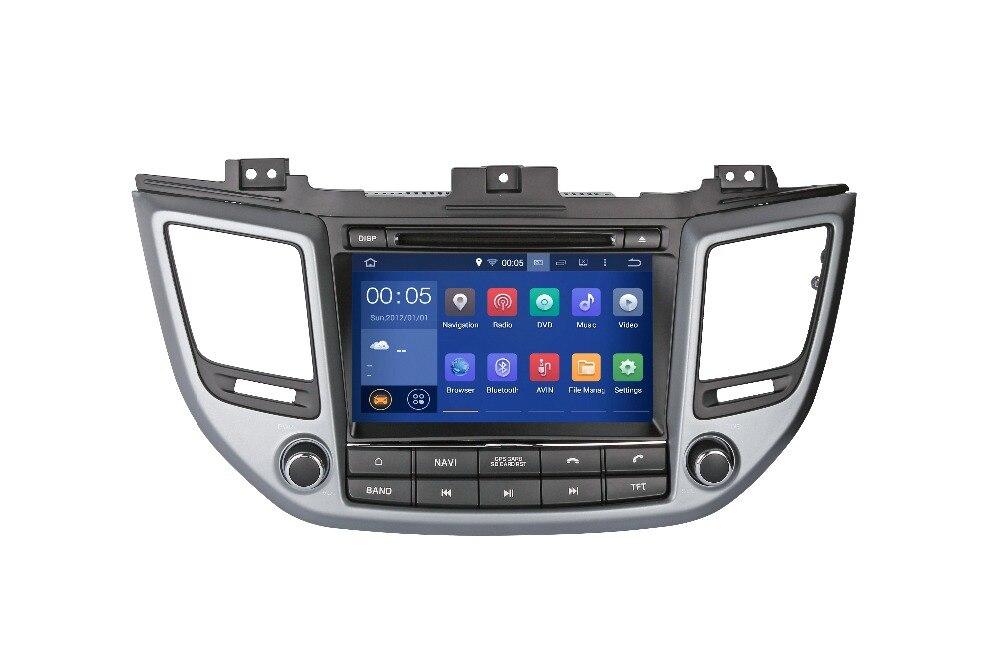Hyundai TUCSON 9.0-2015 lecteur de DVD   RAM, 2 go HD, Android 2016, Navigation multimédia, GPS, NAVI Radio, AUDIO, stéréo DVD