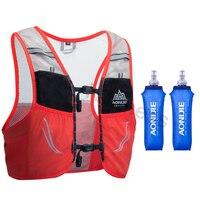 AONIJIE 2.5L Lightweight Backpack Running Breathable Cycling Marathon Ultralight Hiking Sport Bag 500ML Soft Flask