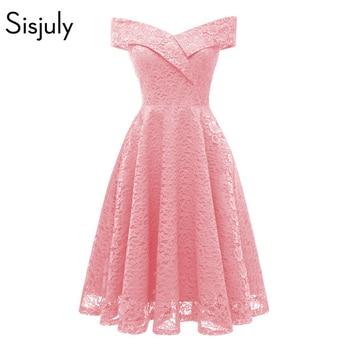 f35f96c3e Sisjuly mujeres noche fiesta Plus tamaño rosa violeta púrpura blanco azul  marino negro gótico vestido de oficina trabajo vestidos