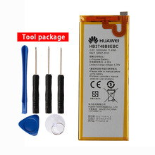 Original HB3748B8EBC phone Battery For Huawei Ascend G7 G7-TL100 C199 C199-CL00 G760 3000mAh