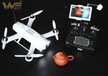 2016 voyageur Professionnel rc drone WST 280 5.8G 5 pouce FPV moniteur 6 axe 9 canal télécommande DIY fly jouet vs Livraison-X FreeX