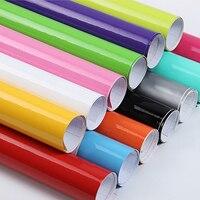 1 52x30m 5x98ft Strong Self Adhesive High Gloss Vinyl Wrap Car Vinyl Wrap Decal Sticker Sheet