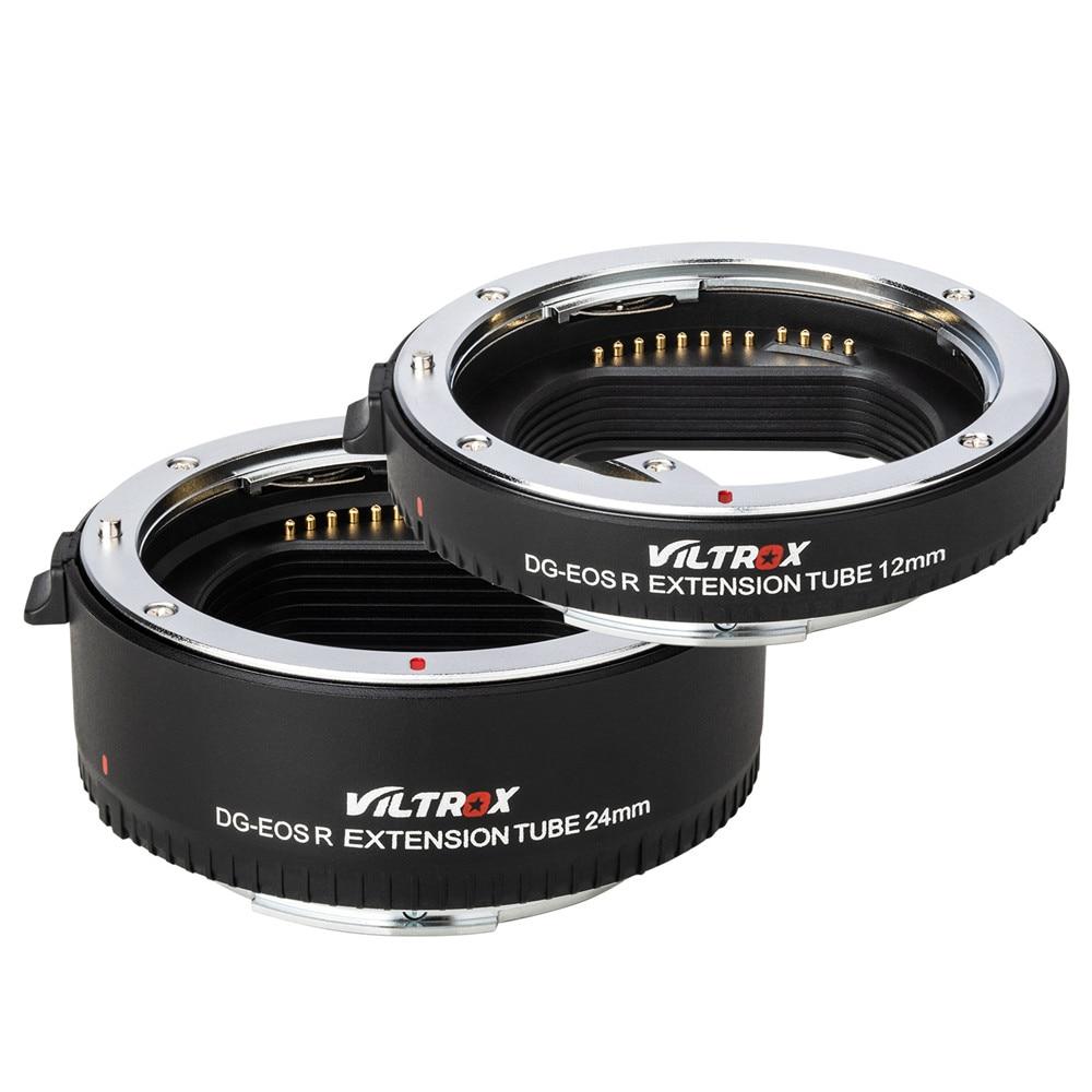 Viltrox pour DG-EOS R adaptateur d'objectif de Tube d'extension Macro à mise au point automatique pour appareil photo Canon EOS R RP - 2